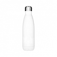 Waterfles Aluminium, 500ml, white