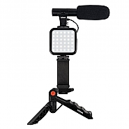 Vlogging Kit with Microphone VL-5