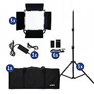 Dorr LED Daylight DLP-1000 RGB Kit of 3