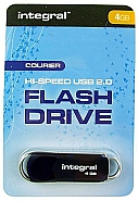 Integral 4GB Courier USB2.0 Flash Drive