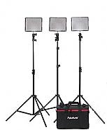 Aputure Amaran 528-KIT CCC 3 Lights + Lightstands
