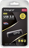 Integral 64GB Noir USB3.0 Flash Drive