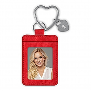 PHOTO KEYCHAIN HEART RING 002 RED (6)