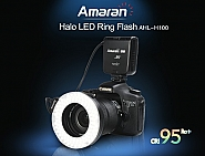 Aputure Amaran Halo LED Ring Flash light Canon