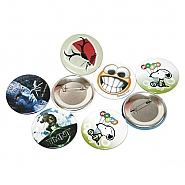 Pin badge 56mm (100pcs)