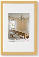 Peppers wooden frame 9x13 gold