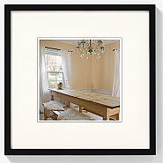 Peppers wooden frame 15x15 black