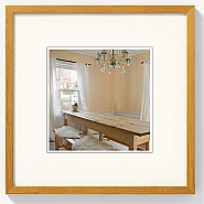 Peppers wooden frame 15x15 oak