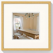 Peppers wooden frame 15x15 gold