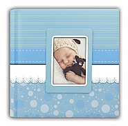 Baby album Cinzia blue 31x31cm 30pag
