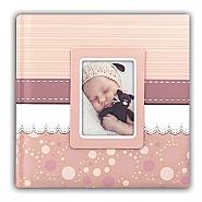 Baby album Cinzia pink 31x31cm 30pag