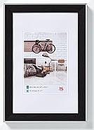 Bohemian frame 18x24 cm, black