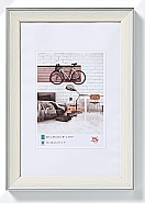 Bohemian frame 18x24 cm, cream
