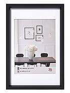 Plastic frame steel style 60x80 black