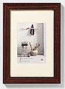Home wooden frame 70x100 walnut