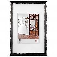 Metropolis wooden frame 13x18 cm black