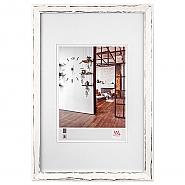 Metropolis wooden frame 30x40 cm white