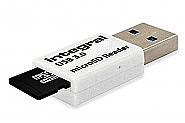 Integral MicroSD card reader USB3.0