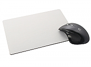 Mousepad Black foam, White top 265x190 (10)