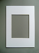 Galerie Passep. 13x18 Polar White