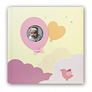 Baby album Penelope pink 32x32cm 30pag