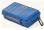 Pelicase 1050 Microcase inclusief plukschuim blauw