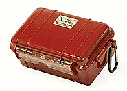 Pelicase 1050 Microcase inclusief plukschuim rood
