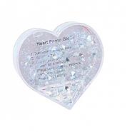 Foto Glitter hartvorm (6pcs)