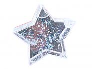 Photo Glitter Globe Star (12pcs)