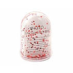 Photo Glitter Globe Hearts 75x10mm (12pcs)