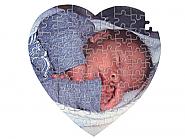 Puzzle, Heart Shaped 19x19cm 75pcs (10)