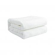 Fleece deken 116x96cm wit (10)