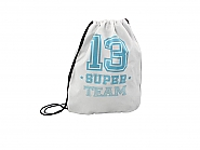 Sportbag white/Blue