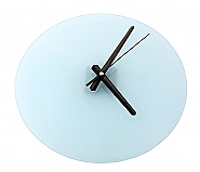 Glass Clock Rond 30cm (2)