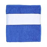 Handdoek 70x140cm blauw (6)