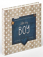 Babyalbum Little Baby Boy 28x30,5 cm, blue