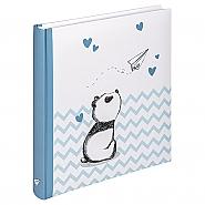 Baby Album Little Panda, 28X30,5 cm bleu