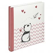 Baby Album Little Panda, 28X30,5 cm pink