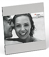 Ava portrait frame, 13x18, silver