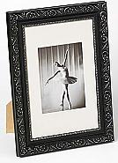 Barock portrait frame, 20x30, black
