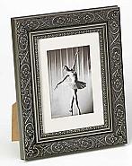 Barock portrait frame, 30x40, grey