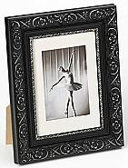 Barock portrait frame, 13x18, black