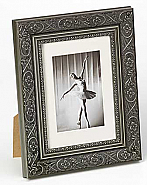 Barock portrait frame, 15x20, grey
