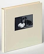Bookbound charm 30x30 cm, wit, met uitsparing