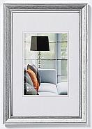 Lounge frame 10x15 cm, silver