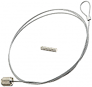 Photo Ropes, 1,5 m, Silver with magnetics (12)