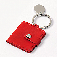 key holder Secret, red,  2 x 3,5x4,5 cm (6)