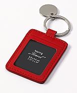 key holder Travel, red 3,5x4,5 cm (6)