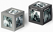 Aluminium photo cube 6 pcs