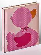 Babyalbum Ducky  Girl Roze  28x30,5 cm